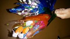 田代沙織 公式ブログ/お菓子の花束 画像1