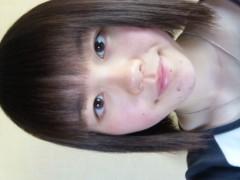 優希 公式ブログ/髪をチョキチョキ 画像1