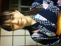 優希 公式ブログ/浴衣(笑) 画像1