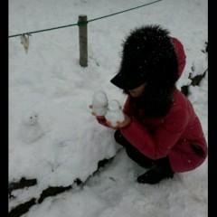 鈴木日和子 公式ブログ/*雪がふったょ* 画像1