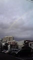 一石二鳥 公式ブログ/綺麗な虹が出ていました 画像1