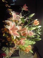 一石二鳥 公式ブログ/お花をいただきました 画像1