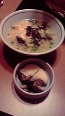 一石二鳥 公式ブログ/〆に雑炊です 画像3