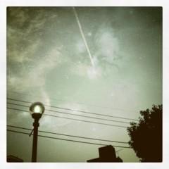野田萌 プライベート画像 The sky in ours