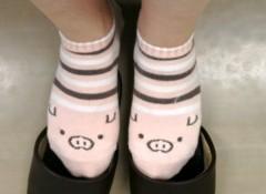 野田萌 公式ブログ/靴を脱いだら 画像1