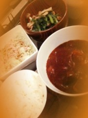 大森美知 公式ブログ/野菜な夕飯 画像1