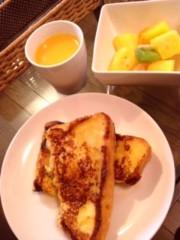 大森美知 公式ブログ/朝食・家具 画像1