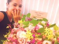 大森美知 公式ブログ/お花に囲まれて。 画像1