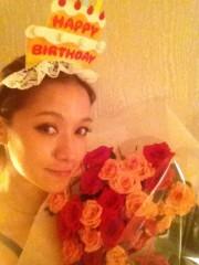 大森美知 公式ブログ/お花に囲まれて。 画像3