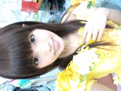 織田まな 公式ブログ/ひまわりドレス☆ 画像1