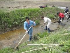 なお(だいなお) 公式ブログ/水路の復旧作業。in陸前高田市 画像1