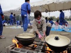 なお(だいなお) 公式ブログ/芋煮体験。in越谷市立西中学校 画像1