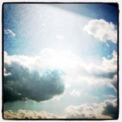 アキラ プライベート画像 クリスマスの空