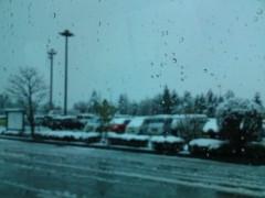 銭元玉香 公式ブログ/4月に雪です 画像1