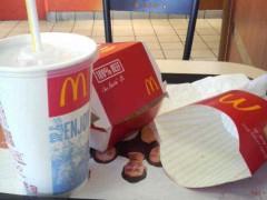 グレート義太夫 公式ブログ/Big Mac を美しく食べる! 画像3