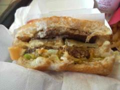 グレート義太夫 公式ブログ/Big Mac を美しく食べる! 画像2
