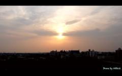 紺野なる プライベート画像 夕日