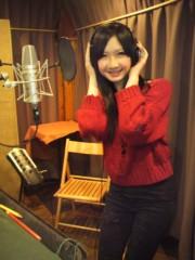藤咲彩香 公式ブログ/レコーディング♪ 画像2