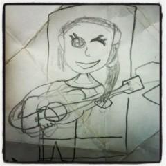 cossami プライベート画像/cossami 8歳の画伯が描いてくれた私