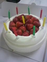 いでけんじ 公式ブログ/涙のケーキ 画像1