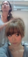 泉里香 公式ブログ/ポニーテール途中 画像1