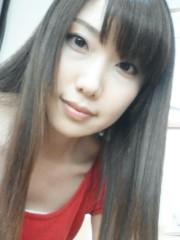 原田奈月 公式ブログ/仕事で、久々にストレートヘアーしたよ。 画像1