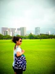 """齊藤美絵 公式ブログ/気仙沼帆布""""GANBAARE""""のトートを持ってハワイへ。 画像1"""