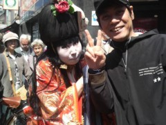 ダイオウイカ夫 公式ブログ/野毛大道芸祭り 画像3