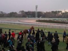 小堺翔太 公式ブログ/【有馬記念その2】雪の表彰式 画像1