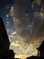 武田真由美 公式ブログ/綺麗な空 画像1