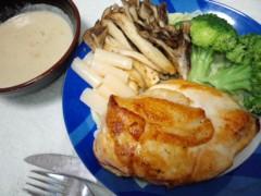 武田真由美 公式ブログ/鶏肉の香草焼き 画像1