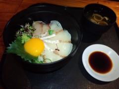 武田真由美 公式ブログ/炙りカンパチ丼 画像1