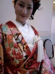 大橋由起子 公式ブログ/今日の花嫁さんは 画像2