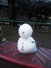 石神 瑤生子 公式ブログ/髪を切った日の夜は雪でした 画像3