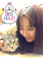 石神 瑤生子 公式ブログ/ネコと一緒 画像1