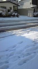 岡和田美沙 公式ブログ/雪! 画像1