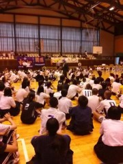 ザ・グレート・サスケ 公式ブログ/最上中学校 画像3