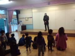 ザ・グレート・サスケ 公式ブログ/涌谷町の幼稚園を慰問 画像1