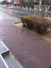 中村円香 公式ブログ/すんごい雪や!!! 画像1