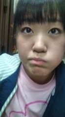 中村円香 公式ブログ/赤いマスカラと青いライン使ってみた 画像1