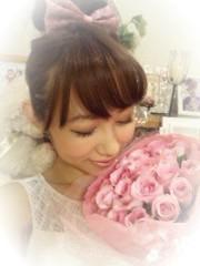 菜月理子(ももドル) 公式ブログ/お花嬉し〜い 画像2