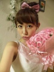 菜月理子(ももドル) 公式ブログ/お花嬉し〜い 画像1