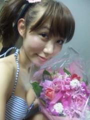 菜月理子(ももドル) 公式ブログ/お花嬉し〜い 画像3