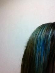 小田万音里 公式ブログ/青髪 画像1
