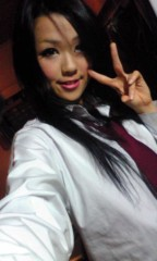 小田万音里 公式ブログ/制服はコスプレぢゃなくて現役なんぢゃよ 画像1
