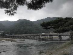 沙人 公式ブログ/雨の嵐山 画像1