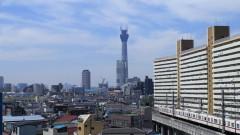 沙人 プライベート画像/撮影便り(2010/8/7)藤井組 墨田から望む東京スカイツリー