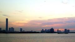 沙人 プライベート画像/日常心動風景 日の出桟橋から望む晴海埠頭の夕景