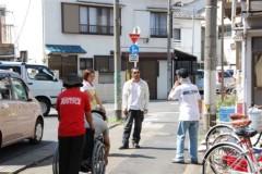 沙人 プライベート画像/撮影便り(2010/8/7)藤井組 八広(墨田区)ロケ風景