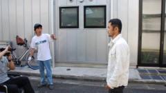 沙人 プライベート画像/撮影便り(2010/8/7)藤井組 八広(墨田区)ロケ風景2